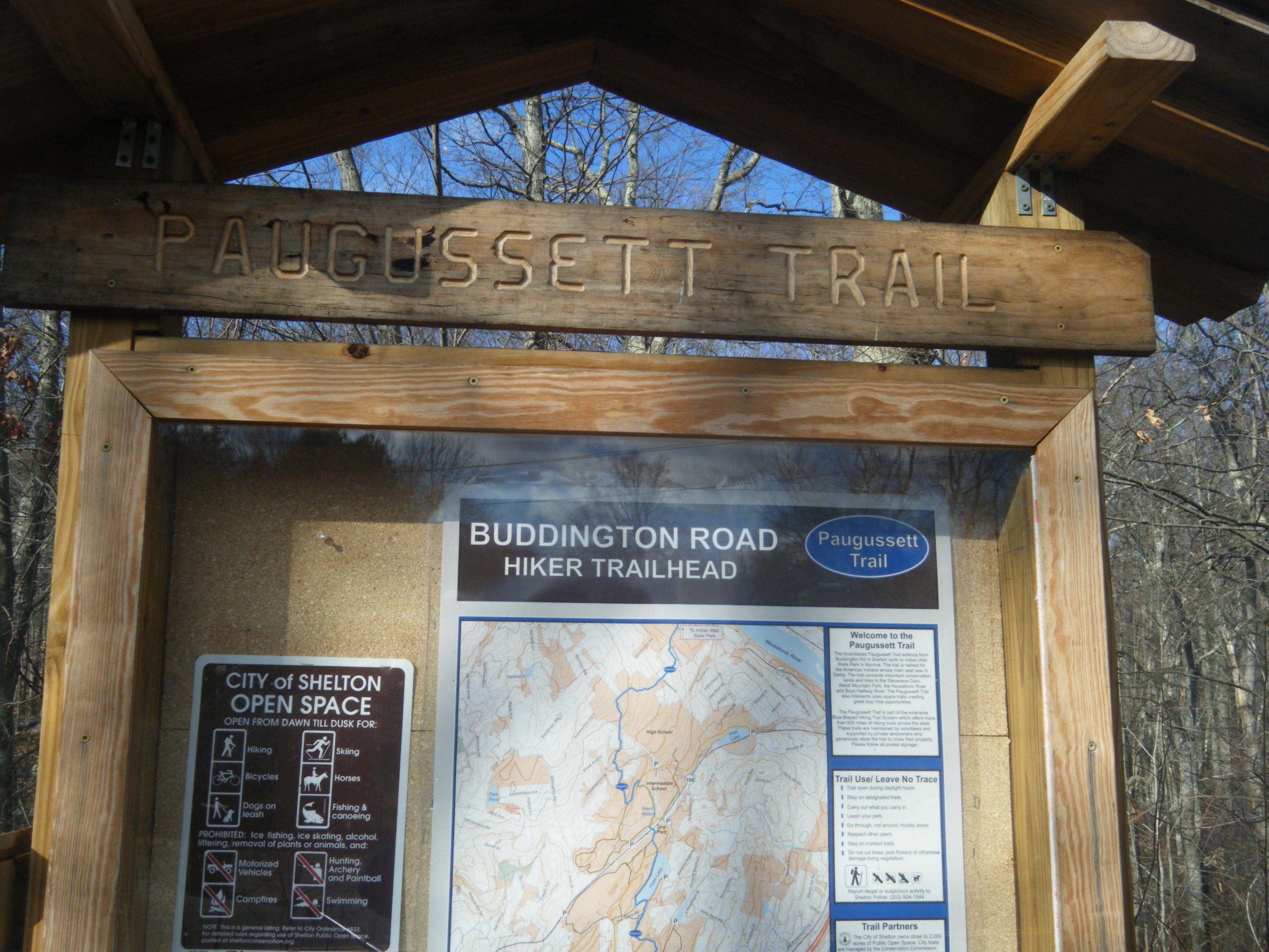 Paugusset Trail Head